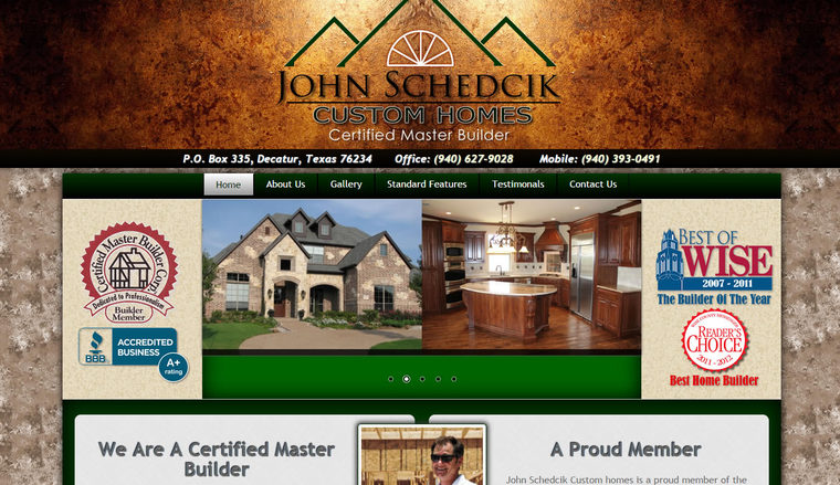 http://www.JohnSchedcikHomes.com
